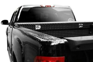For Chevy Silverado 1500 Classic 07 Dee Zee Black tread Side Bed Wrap Caps