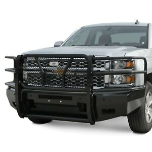 For Chevy Silverado 1500 Ld 19 Bumper Elevation Series Full Width Black Front Hd