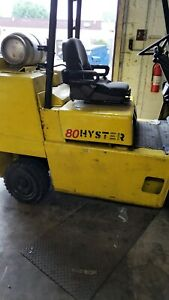 Forklift Hyster S80xl