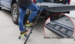 Fits Chevrolet Silverado 2008 2014 Pickup Truck Step Foot Tailgate Stairs Ladder
