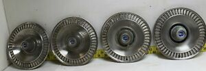 Oem Ford Set Of 4 14 Hub Caps Wheel Covers 1964 Galaxie 2813
