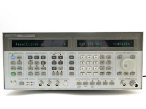 Hp Agilent 8665a 0 1 4200 Mhz Synthesized Sweeper Signal Generator