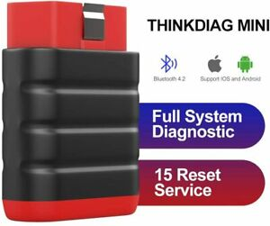 Thinkdiag Mini Bluetooth Car Scanner Obd2 Car Code Readerl For Ios Android