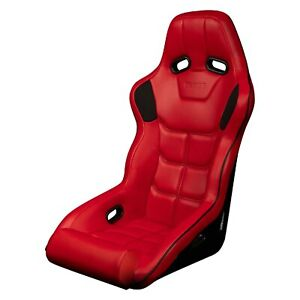 Falcon X Series Fia Approved Racing Seat Red W Black Stitching Black Piping