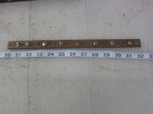 12 Copper Ground Bar Used