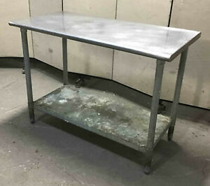 Stainless Steel 48 X 24 Table With Undershelf Eagle