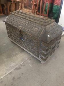 Wooden Dowry Chest