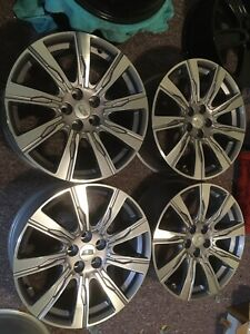 20 Inch Factory Wheels Rims 2020 Cadillac Xt4 Ct5 Ct6 Cts Oem Machined 4826 Set