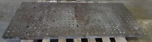 28 X 65 Sub Plate 2 Thick Drilled And Tapped 30883