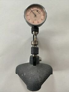Mahr 0 01mm Dial Indicator Gage Micrometer With Solid Base