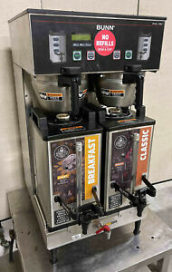 Bunn Dual Sh Dbc Commercial Coffee Brewer 2013 Model Server 33500 Maker Pickup