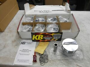 Mopar 400 Keith Black 8 Kb240 030 Over Pistons New In The Box