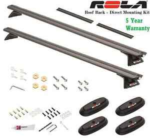 Rola Roof Rack Cross Bars Complte With Direct Mount Kit For 96 15 Tundra 165lb
