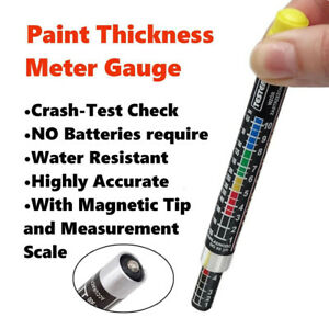 Car Paint Thickness Tester Meter Gauge Crash Check Test Lacquer Tester Tool
