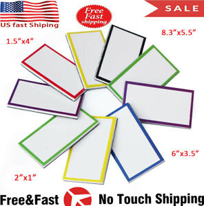 Zhidian Magnetic Dry Erase Labels Colored Magnets Whiteboard Name Tags Plate Us