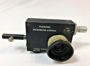 Gamma Scientific Inc Scanning Micrometer Eyepiece Model 700 10 65a 25 Aperture
