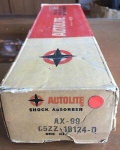 Vintage Ford Mustang Autolite Autoflex Xd Front And Rear Shocks