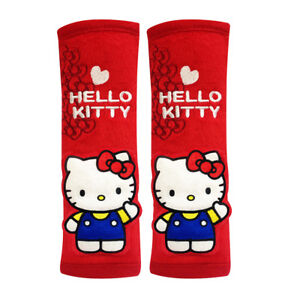 Hello Kitty Seat Belt Covers seat Belt Pads Pair New With Tags From I m Kitty