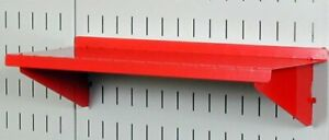 Wall Control Pegboard Shelf 6in Deep Pegboard Shelf Assembly For Wall Control