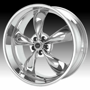 American Racing Ar605m Torq Thrust M Chrome 18x8 5x4 5 0mm Ar605m8865c