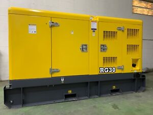 2021 Rhino Rg30k Diesel Generator Powered By Kubota