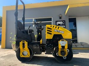 2021 Rhino Rct10h Asphalt Roller Compactor Powered By Briggs Stratton