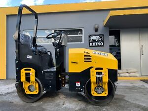2021 Rhino Rct15h Asphalt Roller Compactor Powered By Briggs Stratton