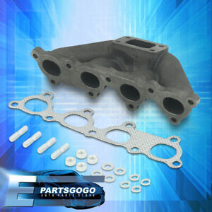 For Honda T25 D Series D15 D16 Iron Cast Turbo Exhaust Manifold High Performance