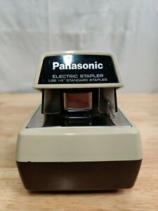 Panasonic As 300 Commercial Desktop Electric Stapler Tested Working