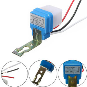 Automatic Auto Night On Day Off Street Light Switch Photo Control Sensor12v10_es