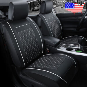 Us Auto Car Suv Pu Leather 5 Seat Seat Covers Set For Vw Golf Jetta Passat