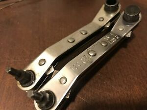 Blue Point Kastar Tools Usa Ratchet Bent Ratcheting Wrench T20 7 32 Torx Ford
