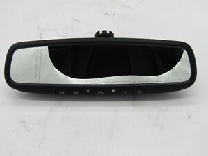 Auto Dimming Rear View Mirror W Homelink Hidden Compass Gntx 453