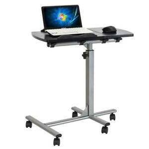 New Laptop Desk Medical Adjustable Height Sofa Overbed Table Multi purpose