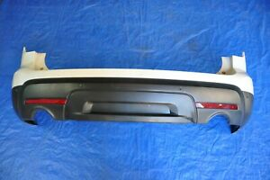 2012 Ford Explorer Limited 3 5l Awd 2 Rear Bumper Cover Panel Shell White Oem