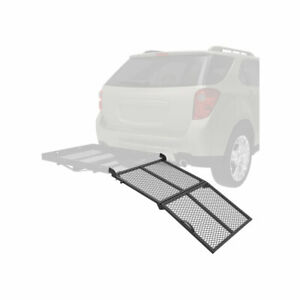 Bi fold Ramp For Reese Solo Cargo Carrier Basket Rack For Help Loading Cargo