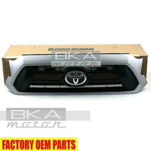 Toyota 2012 2013 Tacoma Sport Silver 1e7 Painted Grille Genuine Oem Oe
