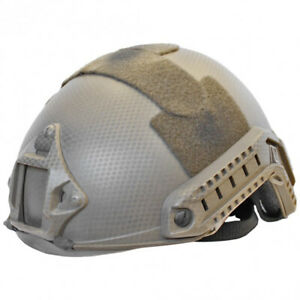 Lancer Tactical Airsoft Fast Helmet Dark Earth Custom CA 739N $49.95