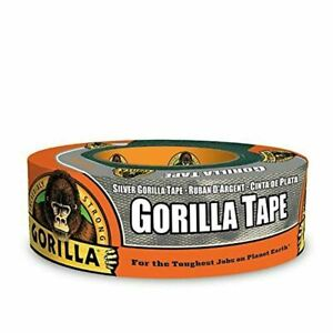 Gorilla Silver Duct Tape 1 88 X 35 Yd Silver pack Of 1