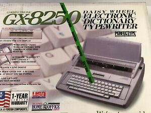 Brother Gx 8250 Electronic Dictionary Typewriter Rare Find New In Sealed Box