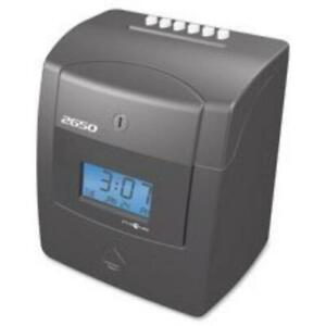 Pyramid 2650 6 column Time Clock Card Punch stampunlimited Employees pti2650