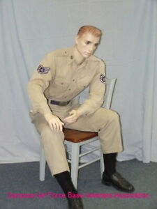 5 Ft H Male Seated Mannequin Skin Tone With Face Makeup M l Size Sfm54ft