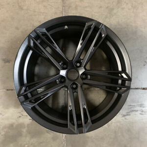 Used 20x10 11 Rep F35 Fit Camaro Zl1 1le Style 5x120 23 43 Black Wheels Set 4