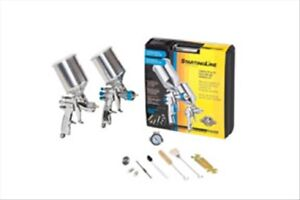Startingline Hvlp Complete Auto Painting And Priming Gun Kit Devilbiss 802343