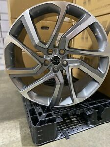 4 New 22 Range Rover Autobiography Wheels Gun Metal Machined Land Rover Replica