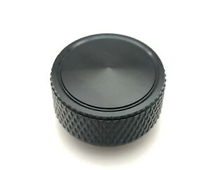 Air Cleaner Wing Nut Knurled Sides 1 4 20 Gmc Chevy Ford Mopar Black Aluminum