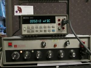 Hp34401a Dmm Tested Good 6 1 2 Digit Programmable Bright Display Bumpers Incl