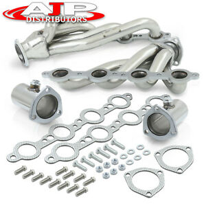Ls Swap Stainless Steel Header Exhaust For Chevy S10 4 8l 5 3l 5 7l 6 0l 6 2l V8