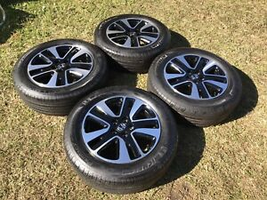 Honda Odyssey 2014 2017 18 Oem Wheels Rims Michelin Tires