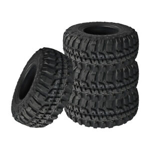 4 X New Federal Couragia Mt 265 75r16 10 Ply Owl Tires